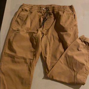 Men's xl jogger cut pants